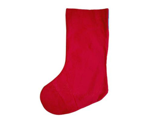 26'' Christmas Present Stocking - Blue