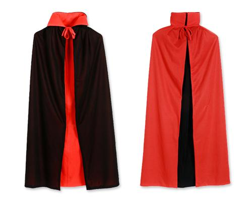 Halloween Party Costume Adult Vampire Role Play Reversible Cloak Cape