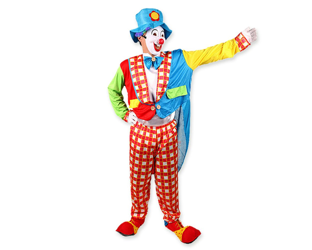 Colorful Clown Costume Set