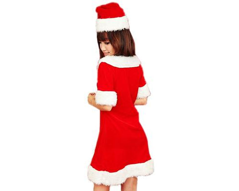 Women Santa Dress Christmas Costume