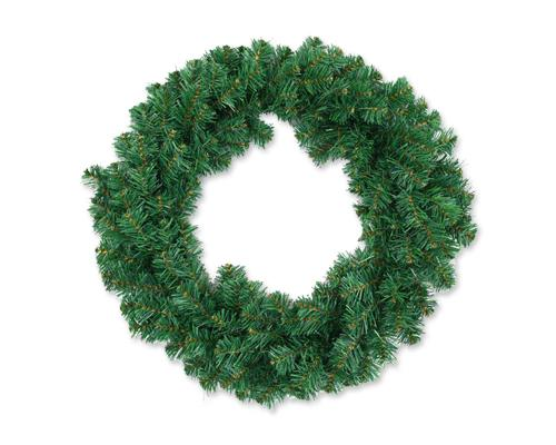 20'' Christmas Decoration Artificial Pine Wreath - Green