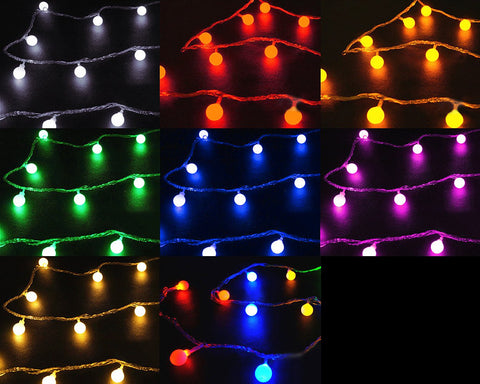 Christmas Party Decoration 110V 5m 50 LED Lamps String Light