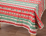 Christmas Printed Washable Tablecloth