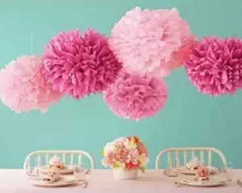 Paper Pom Pom Flower Ball Wedding Decoration