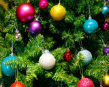 24 Pcs 1.5'' Christmas Ball Ornaments