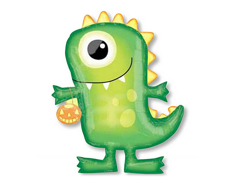 Halloween Party Decoration Dinosaur Monster Helium Foil Balloon