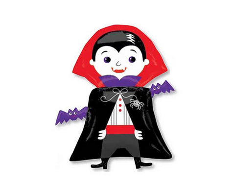 Halloween Party Decoration Vampire Helium Foil Balloon