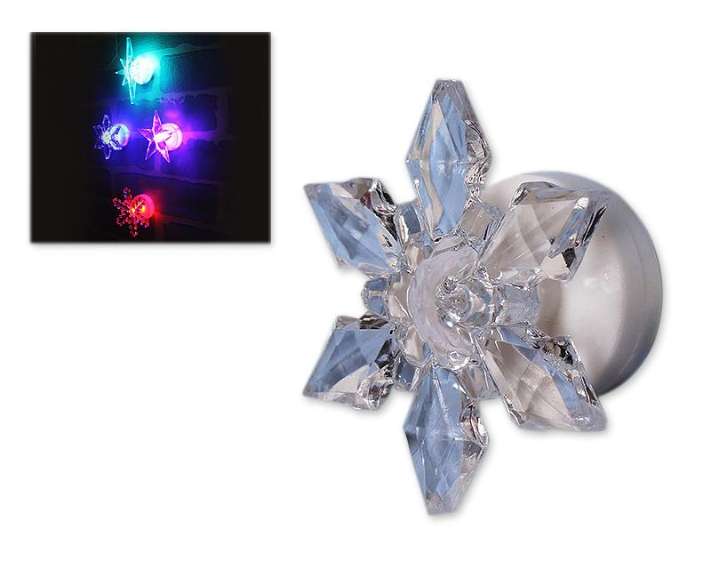 5 Pcs Acrylic Star Shaped Christmas LED Light