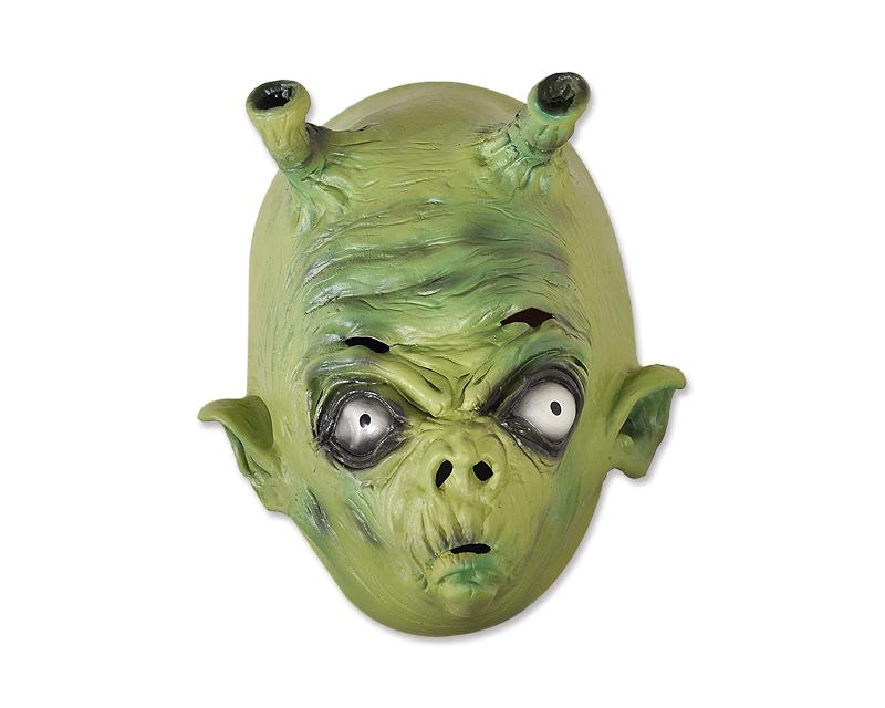 Halloween Green Alien Mask