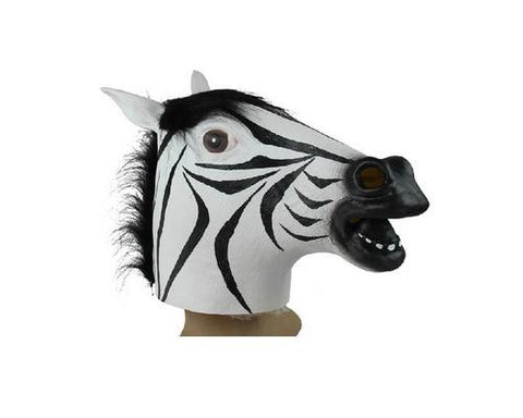 Halloween Zebra Head Mask