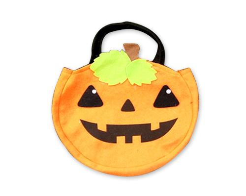 Halloween 2016 Costumes Trick or Treat Child Tote Handbag - Orange