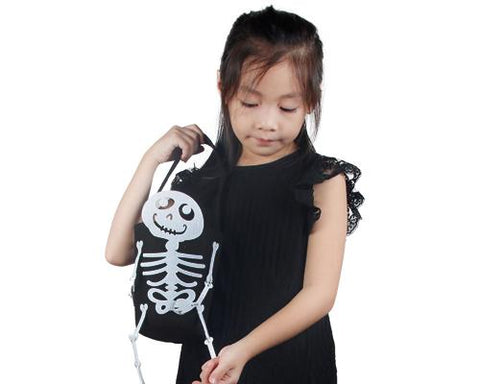 Skeleton Halloween Candy Bag