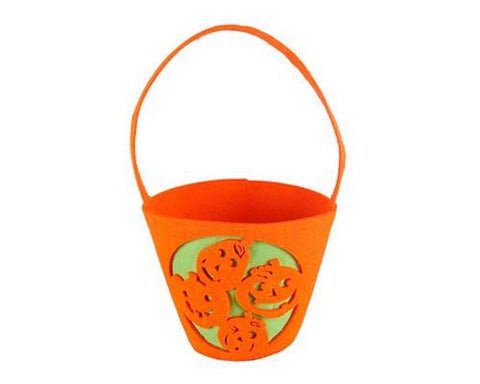 Small Pumpkins Halloween Candy Bag