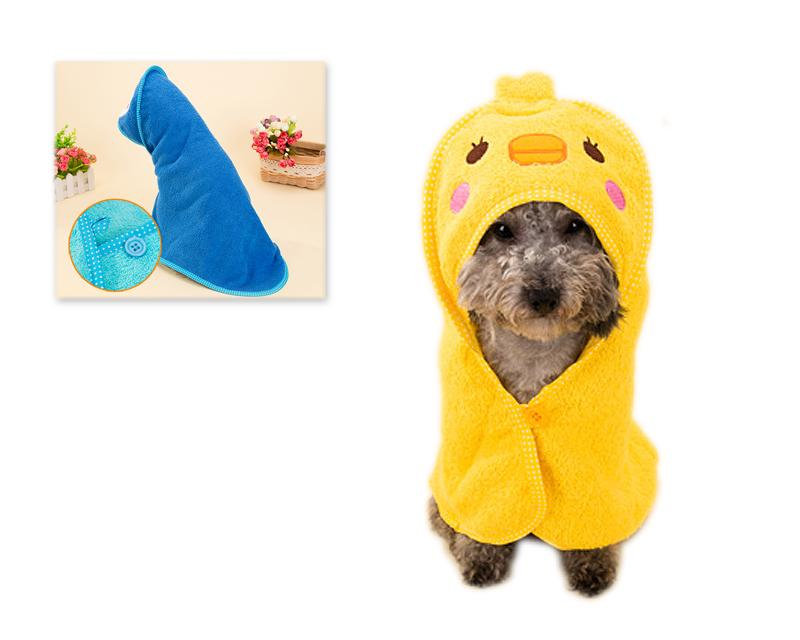 Absorbent Dog Bathrobe Towel