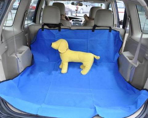 Deluxe Series Pet Car Cargo Seat Cover - Blue