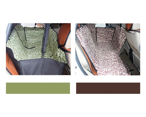 Safe Series Dog Car Hammock Seat Cover for Pets
