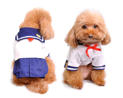 Japanese Uniform Style Costume Pet Dog Clothes
