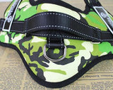 Canvas Series Pet Dog Harness for Outdoor Hiking Walking