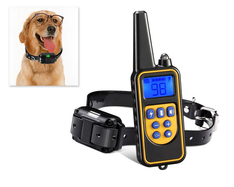 Waterproof Anti Bark Dog Collar with Rechargeable Remote