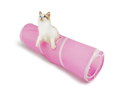 90 cm Collapsible Spiral Cat Tunnel Playing Toy