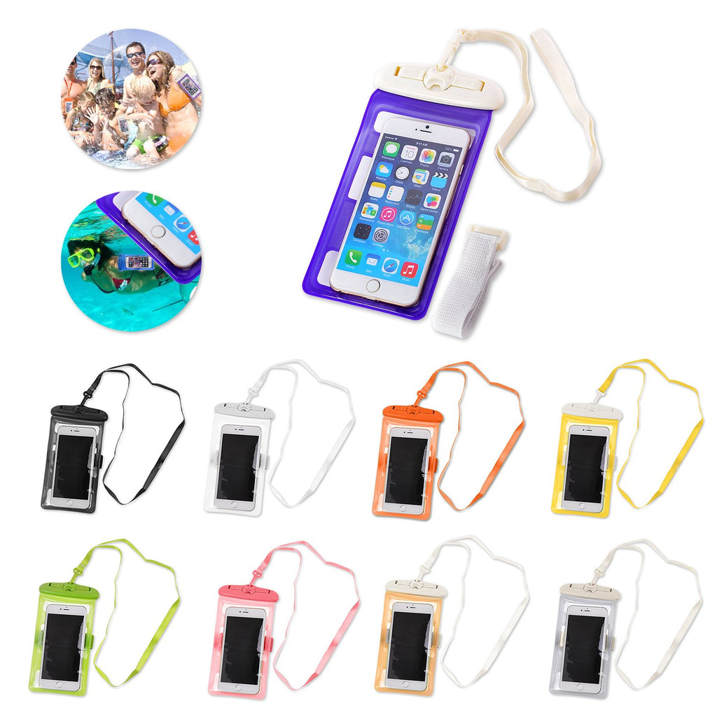 Universal Waterproof Phone Pouch with Arm Strap