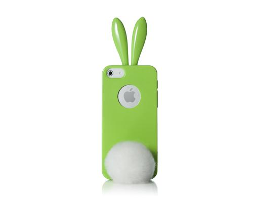 Rabito Bling Bling Series iPhone 5 and 5S Silicone Case - Green
