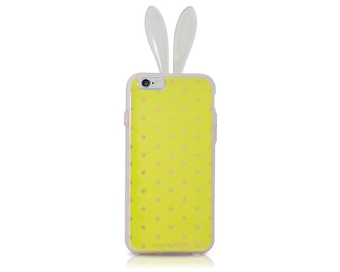 Rabito Inner Layer Series iPhone 6 Silicone Case - Green/Gold Dot