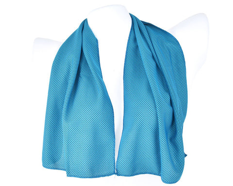 Breathable Chill Absorbent Evaporative Cooling Ice Towel - Blue