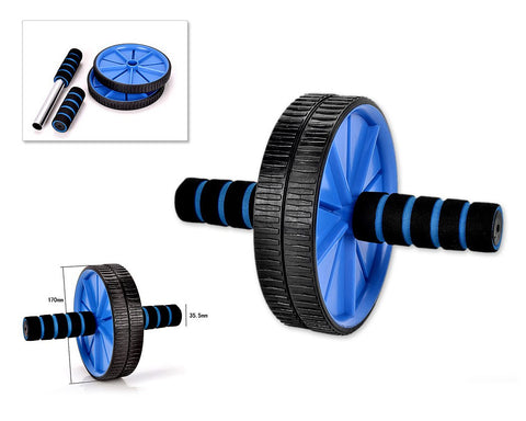 Ab Wheel for Abdominal Exercise - Blue