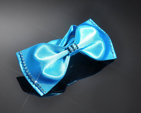 Swarovski Crystal Rhinestones Wedding Bow Tie for Men - Light Blue