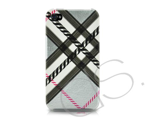 Tartan Series iPhone 4 and 4S Case - Gray