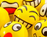 12 Pcs Squishy Emoticon Squeeze Toy Stress Ball