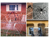 Halloween Spider Decoration 35.4 Inch Giant Spider for Halloween Decoration
