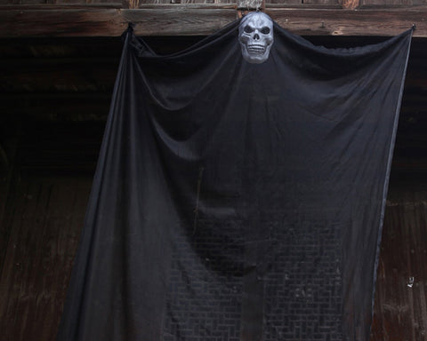 Halloween Decorations Creepy Cloth with Ghost Mask 10.8 Feet Long