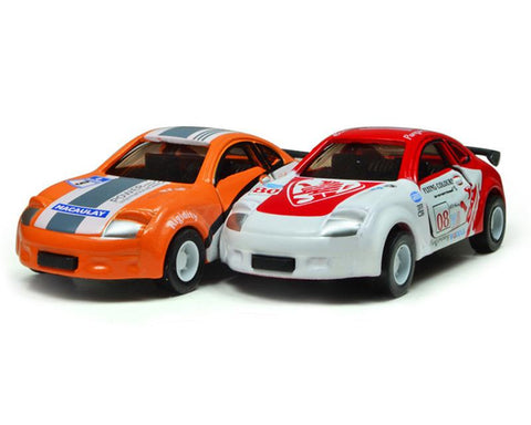 Racing Series Alloy Toy Model Car Set of 2