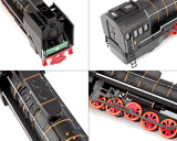 Alloy Steam Train Toy 1:87 Model with Music Light