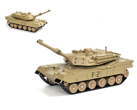 1:48 Alloy Diecast United States M1 ABRAMS Main Battle Tank Toy Model