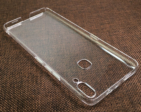 Vivo NEX A Clear Case TPU Bumper with Acrylic Back