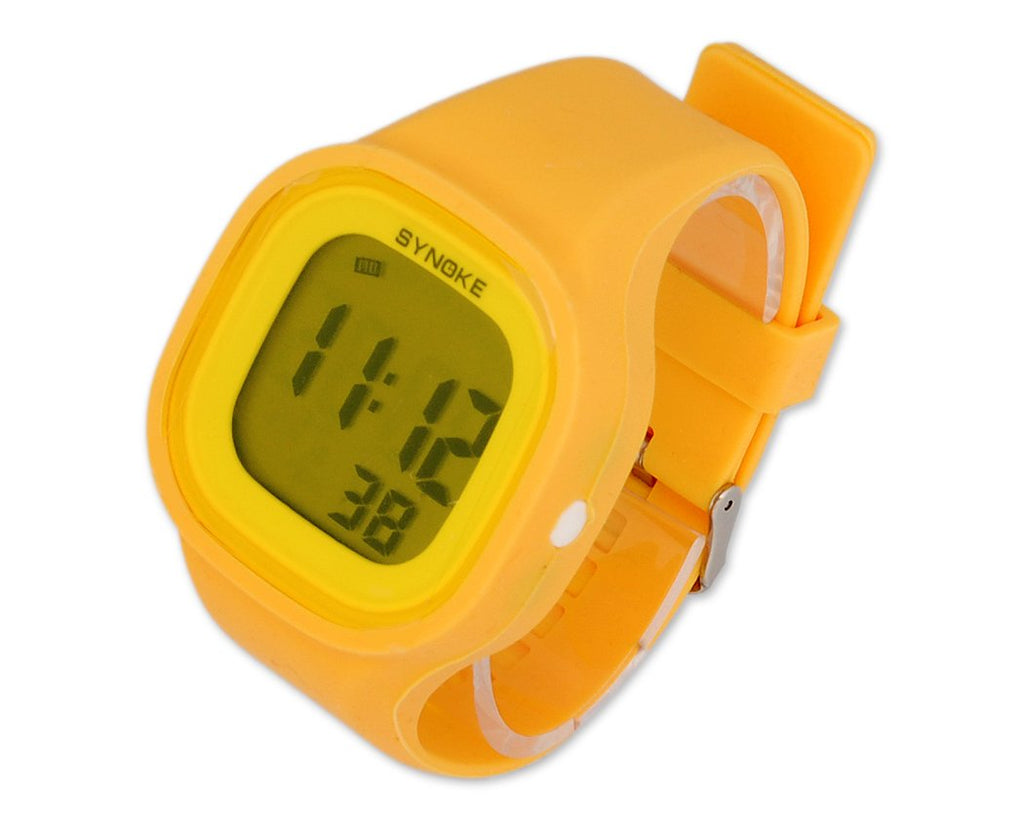 SYNOKE Waterproof Alarm Chronograph Light Digital Sport Watch