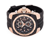 V6 Fashion Luxury Rubber Strap Quartz Sports Men Wrist Watch