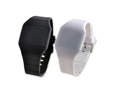 2 Pcs Water Resistant Chronograph LED Digital Sport Watch