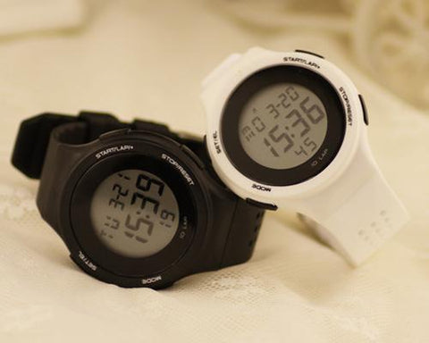 2 Pcs SHHORS Date Display Alarm Chronograph Light Watches