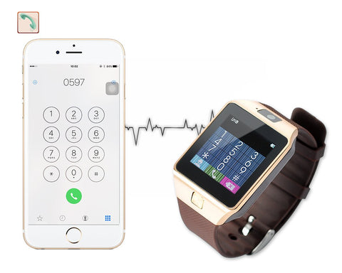 Bluetooth Smart Watch Sim Card Smartphone Watch