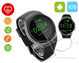 KW18 Bluetooth 4.0 Smartwatch for iPhone with Heart Rate Monitor