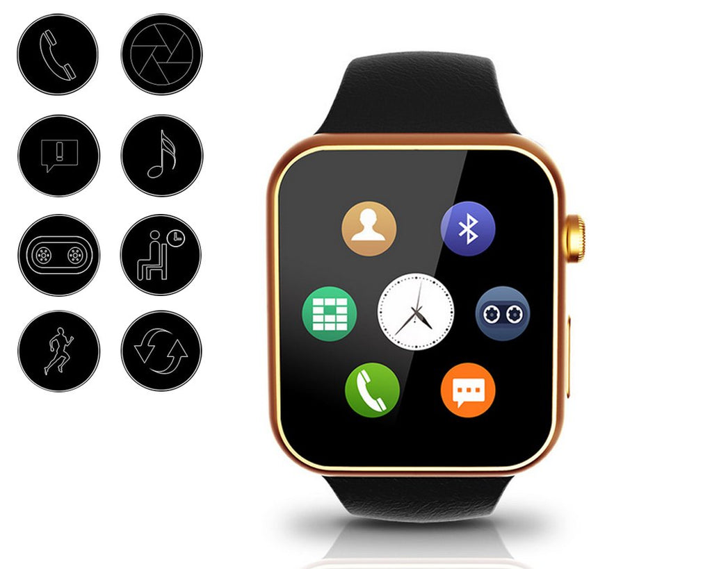 A9 Heart Rate Monitor Smartwatch for iOS and Android