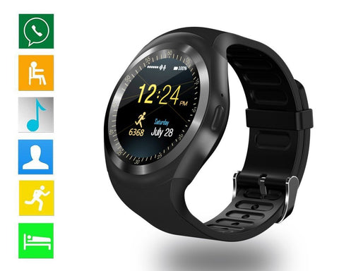 Y1 Bluetooth Smart Watch with SIM Card Slot for Android
