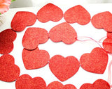 Sweet Heart Wedding Photo Booth Props Banner