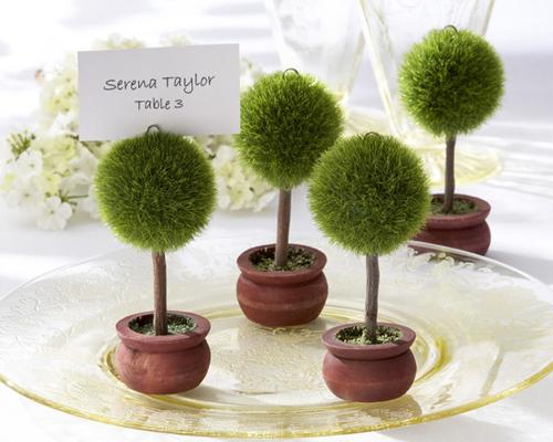 Lovely Tree Wedding Place Card Holder