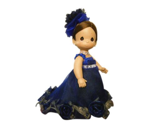 Luxury Precious Moments Bride and Groom Handmade Wedding Dolls