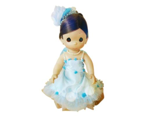 Beauty Butterfly Precious Moments Bride and Groom Wedding Dolls